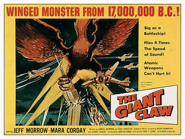 Photo de 'The Giant Claw' - ©1957 Clover Productions - The Giant Claw (The Giant Claw) - cliquez sur la photo pour la fermer