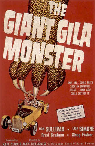 Unknown poster from the movie The Giant Gila Monster
