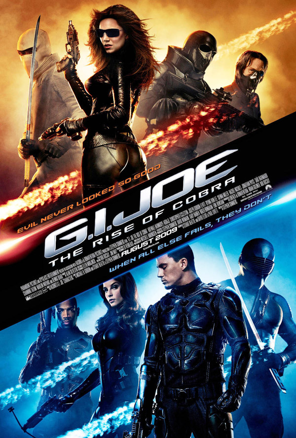 Us poster from the movie G.I. Joe: The Rise of Cobra