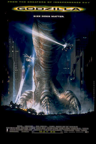 Us poster from the movie Godzilla
