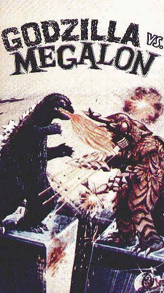 Us poster from the movie Godzilla vs. Megalon (Gojira tai Megaro)