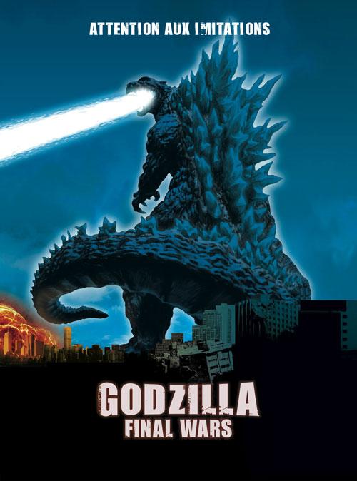 Godzilla : Final Wars (2004) movie poster #1 - SciFi-Movies