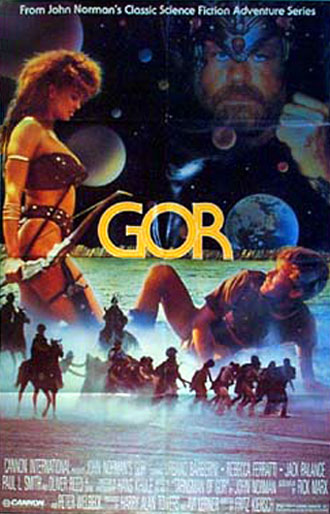 Unknown poster from the movie Gor