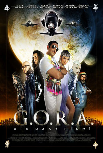 French poster from the movie G.O.R.A.
