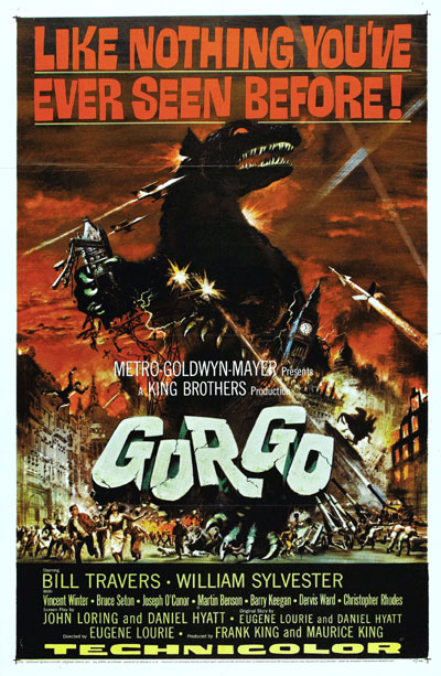 Us poster from the movie Gorgo