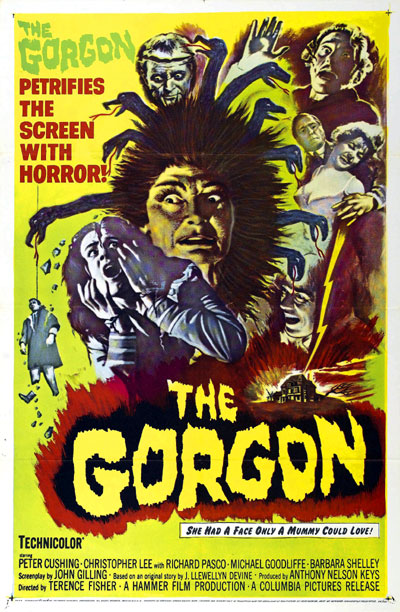 Us poster from the movie The Gorgon