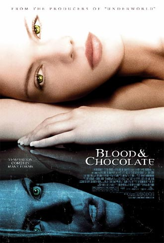 Unknown poster from the movie Blood and Chocolate