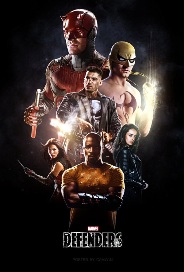 International poster from the series The Defenders