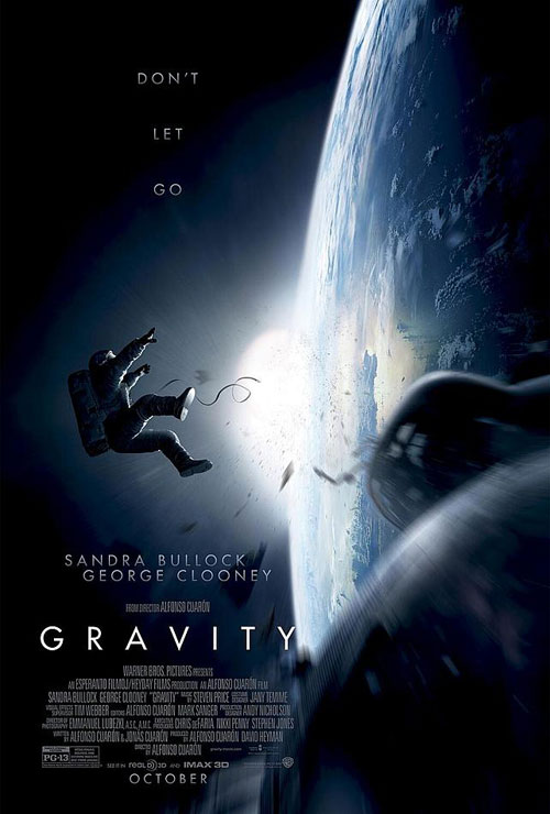 Us poster from the movie Gravity