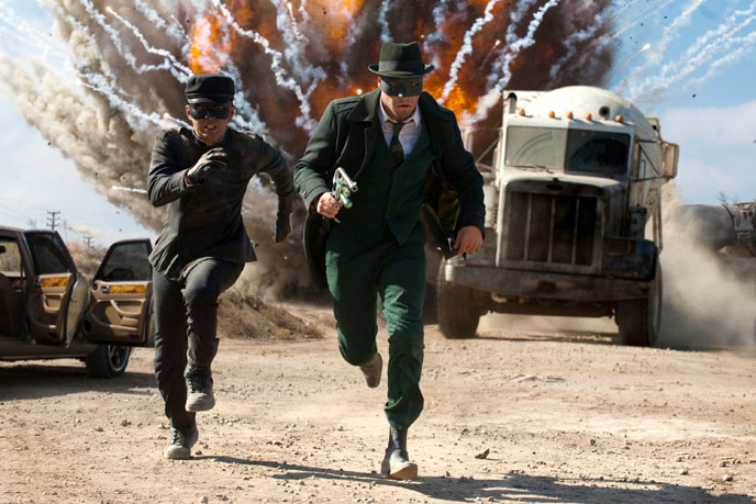 Photo de 'The Green Hornet' - ©2010 Sony Pictures - The Green Hornet (The Green Hornet) - cliquez sur la photo pour la fermer