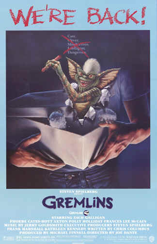 Us poster from the movie Gremlins 2: The New Batch