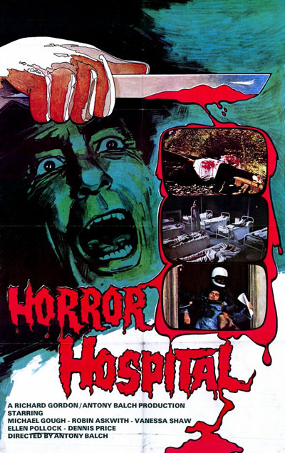 Unknown poster from 'Horror Hospital'