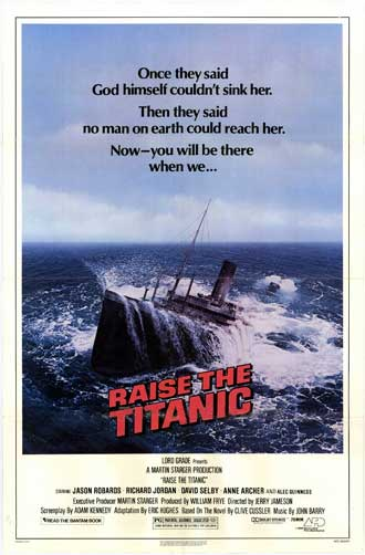 Us poster from the movie Raise the Titanic