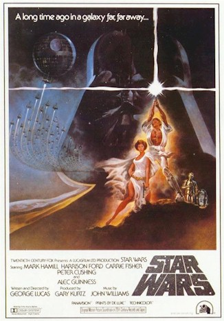 Us poster from the movie Star Wars