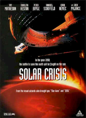 Unknown poster from the movie Solar Crisis