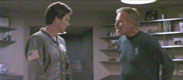 Steve Kelso and his father, Admiral Kelso - Solar Crisis