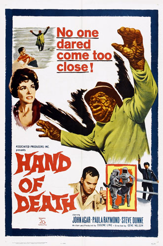 Unknown poster from the movie Hand of Death