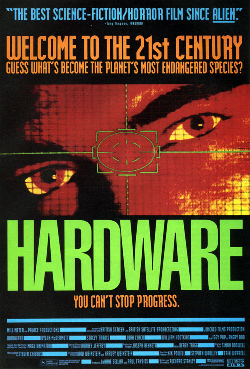 Us poster from the movie Hardware