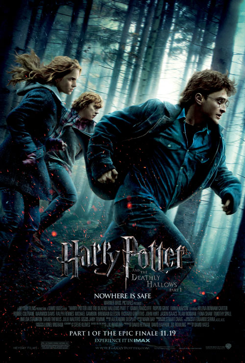 Us poster from the movie Harry Potter and the Deathly Hollows - part 1 (Harry Potter and the Deathly Hallows: Part 1)