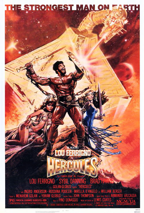 Us poster from the movie Hercules