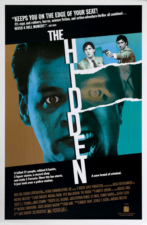 Us poster from the movie The Hidden