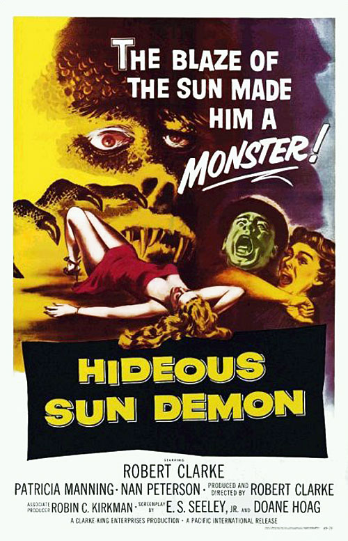 Us poster from the movie The Hideous Sun Demon