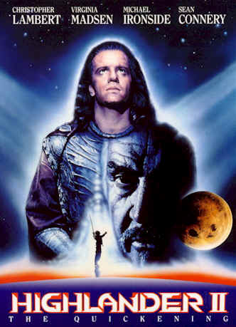 Unknown poster from the movie Highlander II: The Quickening (Highlander, le retour)
