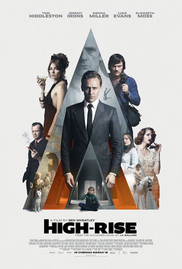 Us poster from the movie High Rise (High-Rise)