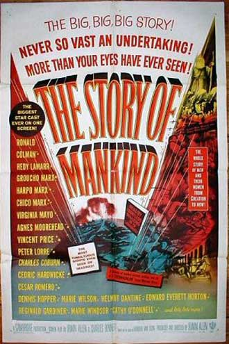 Us poster from the movie The Story of Mankind