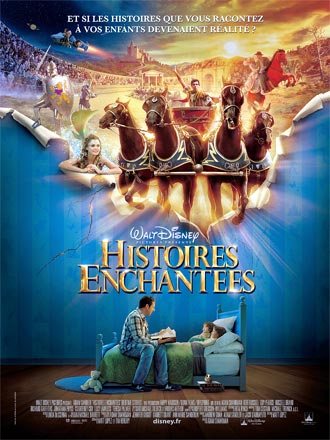 French poster from the movie Bedtime Stories