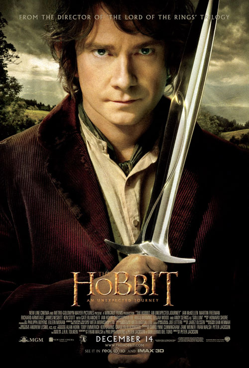 Us poster from the movie The Hobbit: An Unexpected Journey