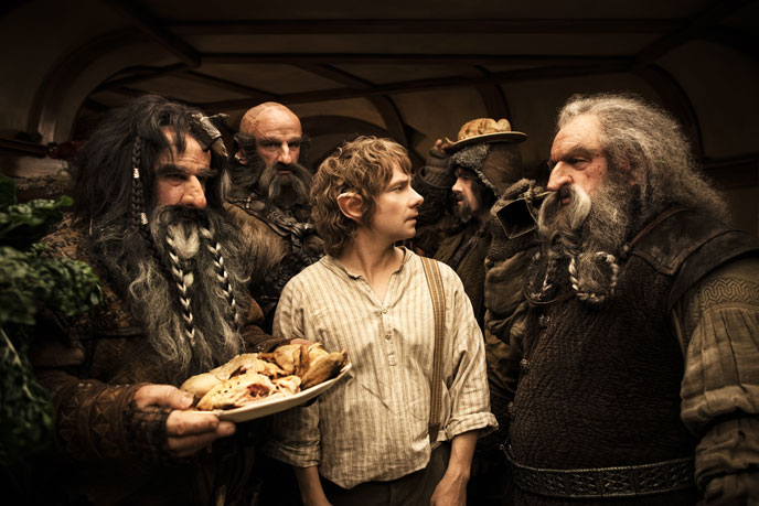 Photo de 'Le Hobbit : un voyage inattendu' - © 2011 Metro-Goldwyn-Mayer - Le Hobbit : un voyage inattendu (The Hobbit: An Unexpected Journey) - cliquez sur la photo pour la fermer