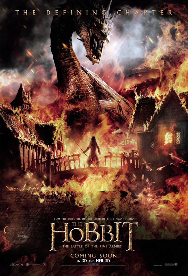 Us poster from the movie The Hobbit: The Battle of the Five Armies