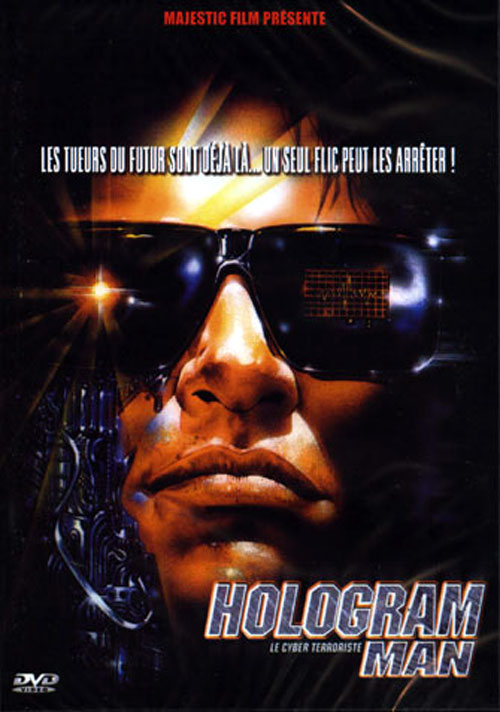 French poster from the movie Hologram Man