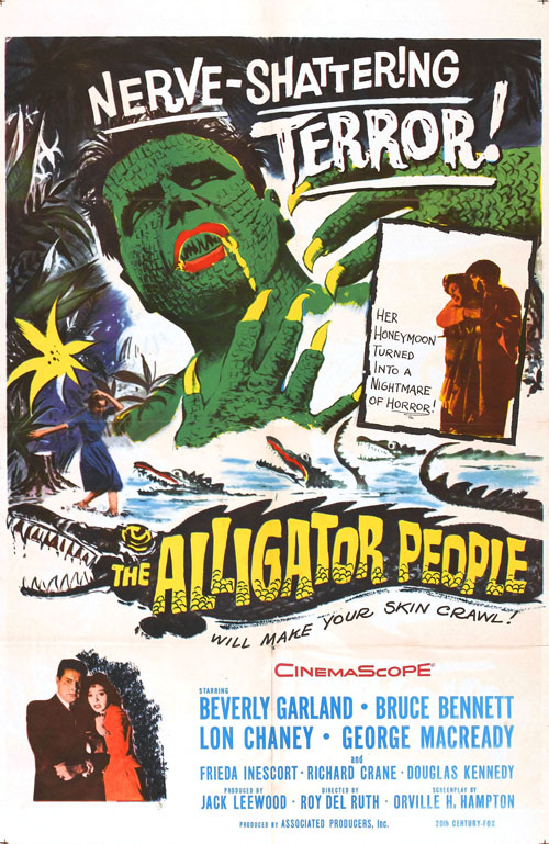 Us poster from the movie The Alligator People
