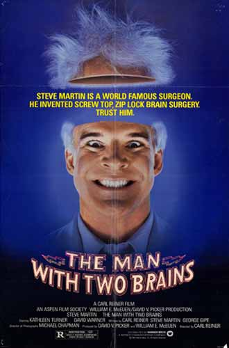 Us poster from the movie The Man with Two Brains