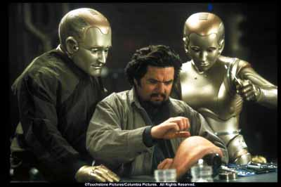 Rupper Burns helps Andrew to become a human - Bicentennial Man