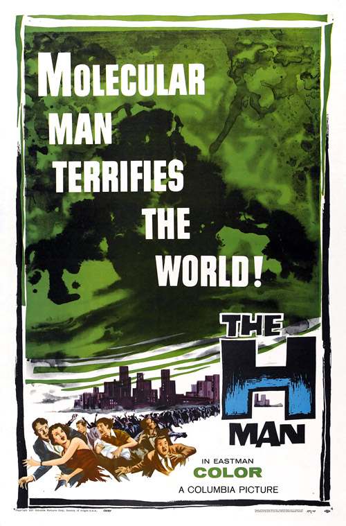 Us poster from the movie The H-Man (Bijo to Ekitainingen)