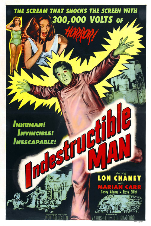 Us poster from the movie Indestructible Man