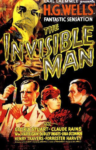 Unknown poster from the movie The Invisible Man