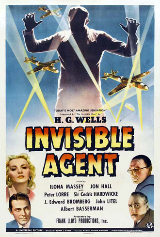 Us poster from the movie Invisible Agent