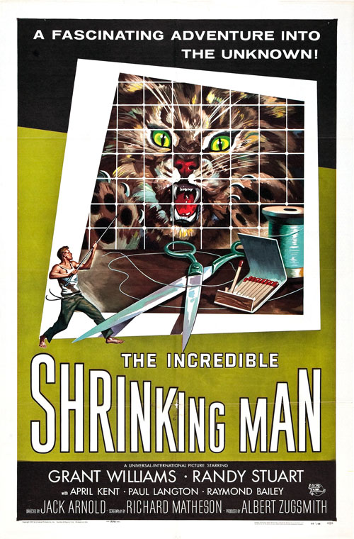 Us poster from the movie The Incredible Shrinking Man
