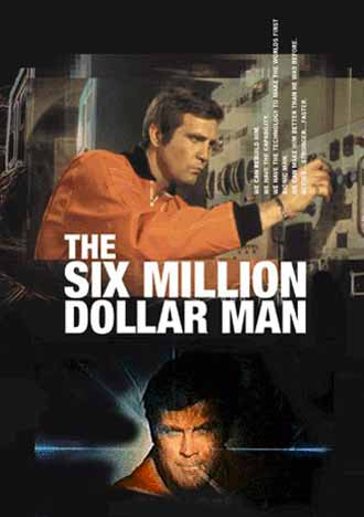 Unknown poster from the series The Six Million Dollar Man