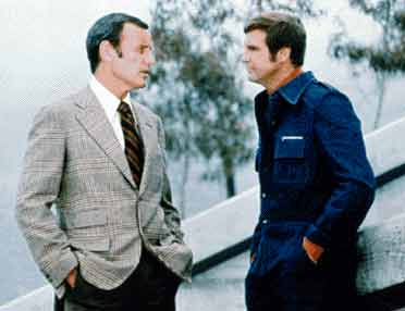 Oscar Goldman and Steve Austin - The Six Million Dollar Man