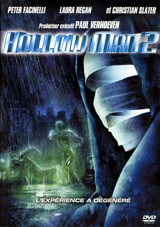 French poster from the movie Hollow Man II