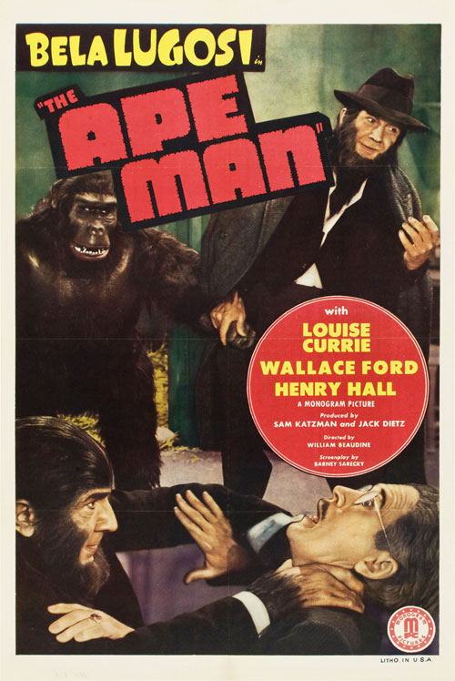 Us poster from the movie The Ape Man