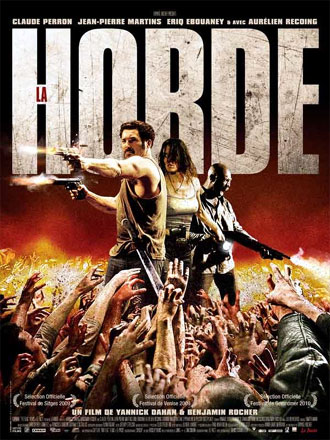 French poster from the movie The Horde (La horde)
