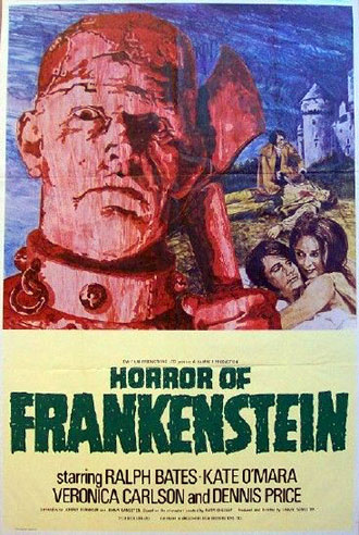 Unknown poster from the movie The Horror of Frankenstein