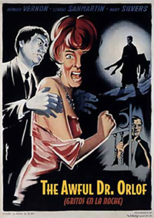 Unknown poster from the movie The Awful Dr. Orloff (Gritos en la noche)