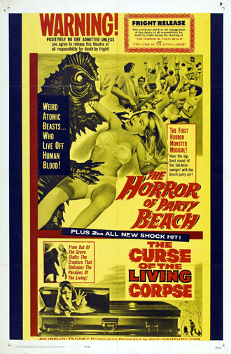 Us poster from the movie The Horror of Party Beach